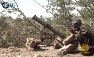 Jihadist Gives Advice to Fighters in Afghanistan in Rocket Launching