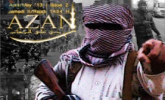 "Fighters in Afghan-Pakistan Region Release 2nd Issue of ""Azan"" Magazine"