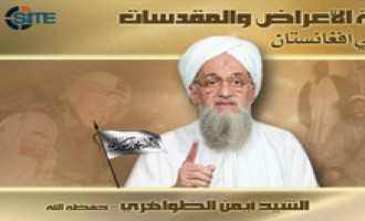 Zawahiri Asks Afghans to Recognize Enemies' Contempt for Muslims