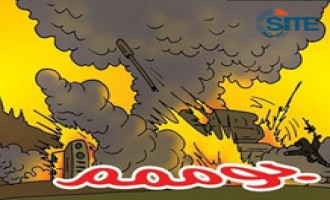 Jihadists Create Jihadi Comic Strip, Present First Issue