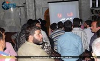 IS Publishes Pictures from Training Camp in Aleppo, Public Viewing of Video on Tabqa Airport Capture