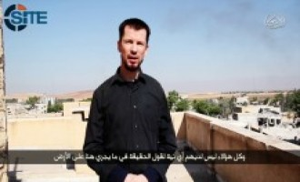 British Captive John Cantlie Reports from Kobani in IS Video