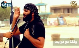 IS Video Shows Interview with Garrisoned Fighter in Iraq about Coalition